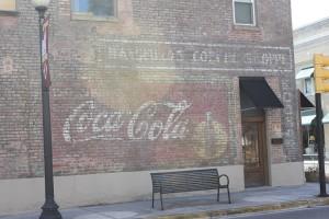 coco cola sign